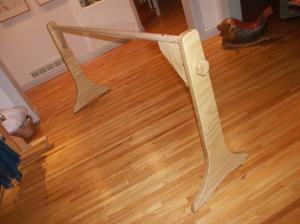 Ajustable barre: upper position