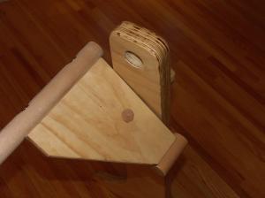 Adjutable barre hinge mechanism