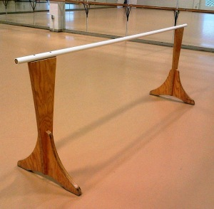 Ballet_barre_single_10foot_plywood_steel_first