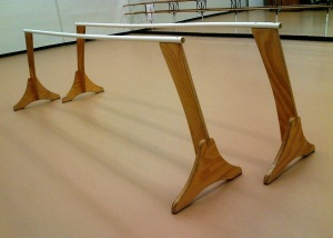 Ballet_barre_single_10foot_plywood_steel_two