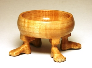 Four-foot bowl