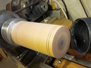 spinning and sanding