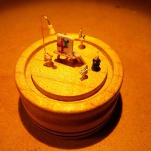 Centerpiece Art in Miniature