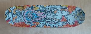 small skateboard repurposed