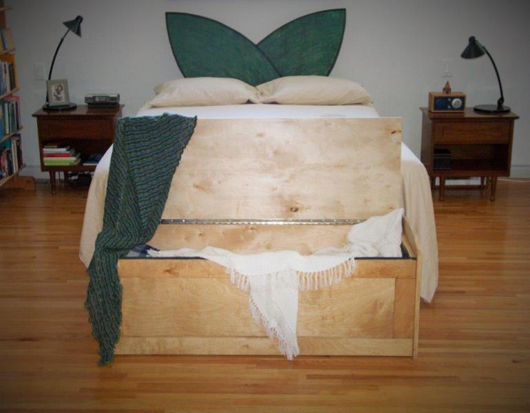 box for bedding